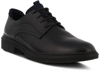 Spring Step Men's Leather Lace-Up Derby Shoes -Richard