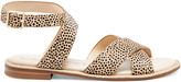Sole Society Women's Saden Ankle Strap Sandals Beachy Tan Size 5 Leather From