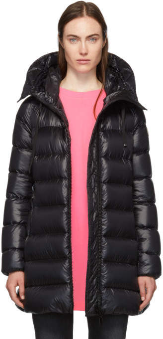 8dcc19a0c Black Down Suyen Hooded Coat