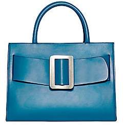 Boyy Women's Large Buckle Leather Tote Bag