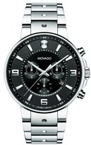 Movado 'S.E. Pilot' Chronograph Bracelet Watch, 42mm