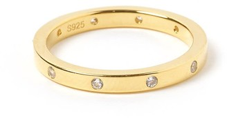 Arms Of Eve Roca Gold & Zircon Stacking Ring