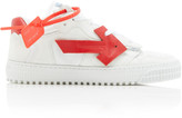 Off-White Off White C/O Virgil Abloh Arrow Low-Top Leather Sneakers