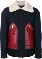 DSQUARED2 contrast coat
