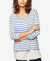 Seraphine Striped Nursing Top