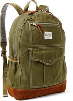 Ralph Lauren Bowers Canvas-suede Backpack