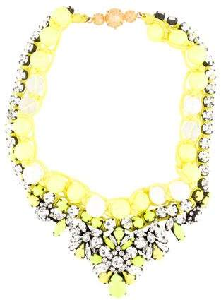Shourouk Theresa Yellow Necklace