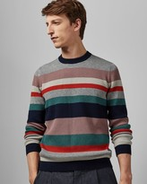 Ted Baker Cotton Blend Crew Neck Jumper