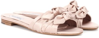 Tabitha Simmons Cleo satin sandals