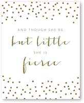 Americanflat Fierce Sparkle Confetti Print Art, Print Only