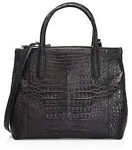 Nancy Gonzalez Women's Large Nix Crocodile Top Handle Bag