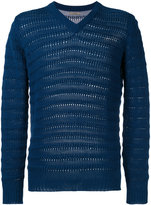 Nuur ribbed detail pullover - men - Cotton - 46
