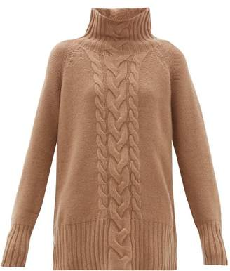 Max Mara S Ronco Sweater - Womens - Camel
