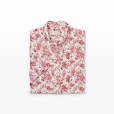 Club Monaco Slim Short-Sleeve Linen Shirt