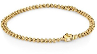 Maria Canale Flapper 18K Yellow Gold & Diamond Beaded Bracelet
