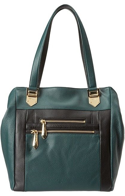 Perlina Handbags - Belinda Tote (Black) - Bags and Luggage