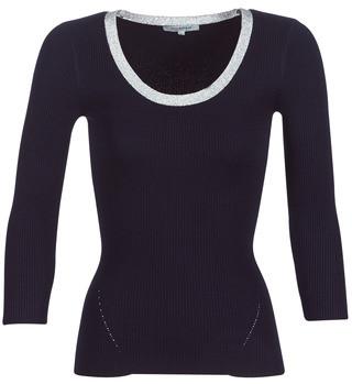Morgan MFUTE women's Sweater in Blue