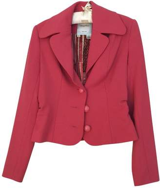 Tracy Reese Pink Wool Jacket for Women
