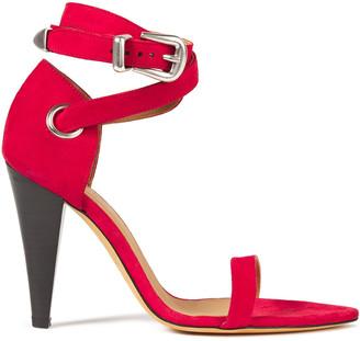 IRO Noussa Suede Sandals