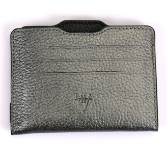 Atelier Hiva Double Card Holder Metallic Anthracite & Black