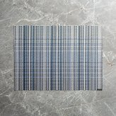 Crate & Barrel Chilewich ® Grid Blue Placemat