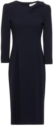 Goat Jenna Bow-embellished Wool-crepe Dress