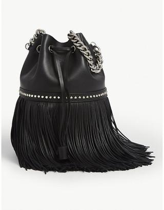 J&M Davidson The Medium Fringe Carnival leather cross-body bag