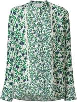 Christian Wijnants floral long-sleeve blouse