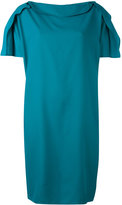 Gianluca Capannolo draped detail dress - women - Viscose - 44