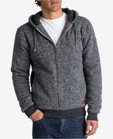 Quiksilver Men's Heathered Sherpa-Lined Hoodie