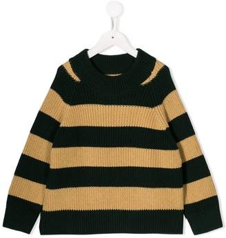 Tiny Cottons striped chunky knit jumper
