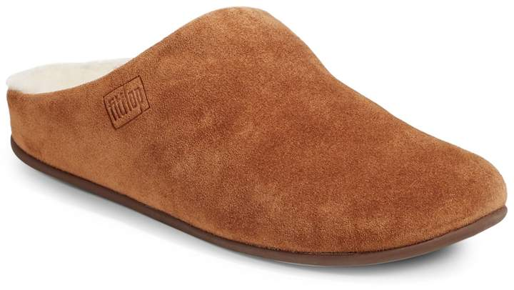FitFlop Shearling-Lined Chrissie Glimmerwool Slippers