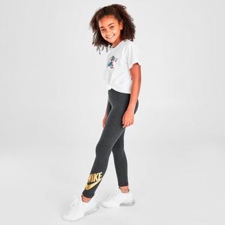 Nike Girls' Sportswear Graphic Leggings