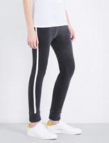 Sundry Contrast stripe skinny jersey jogging bottoms