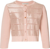 Carolina Herrera metallic knit cardigan - women - Cotton/Nylon/Rayon - S