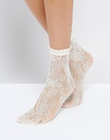 Monki Lace Socks