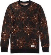 Wacko Maria - Atomic Spider Jacquard-knit Cotton Sweater