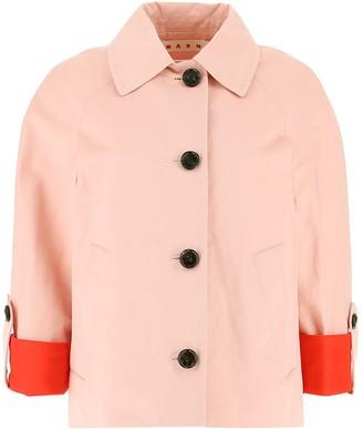Marni Colour Block Cuffed Jacket