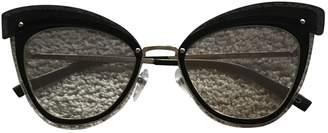 Marc Jacobs Metallic Metal Sunglasses