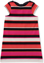 Kate Spade Girls Bow-Back Striped Shift Dress, size 7-14