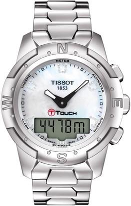Tissot Women's T-Touch II Titanium Lady Bracelet Watch, 43.3mm