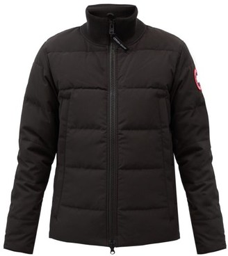 Canada Goose Woolford Quilted Down Jacket - Mens - Black