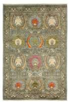 Solo Rugs Suzani Collection Floral Oriental Rug