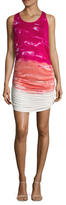 Young Fabulous & Broke Rocky Tie Dye Printed Sheath Dress