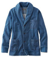 L.L. Bean Signature Shawl Cardigan Sweatshirt, Long-Sleeve