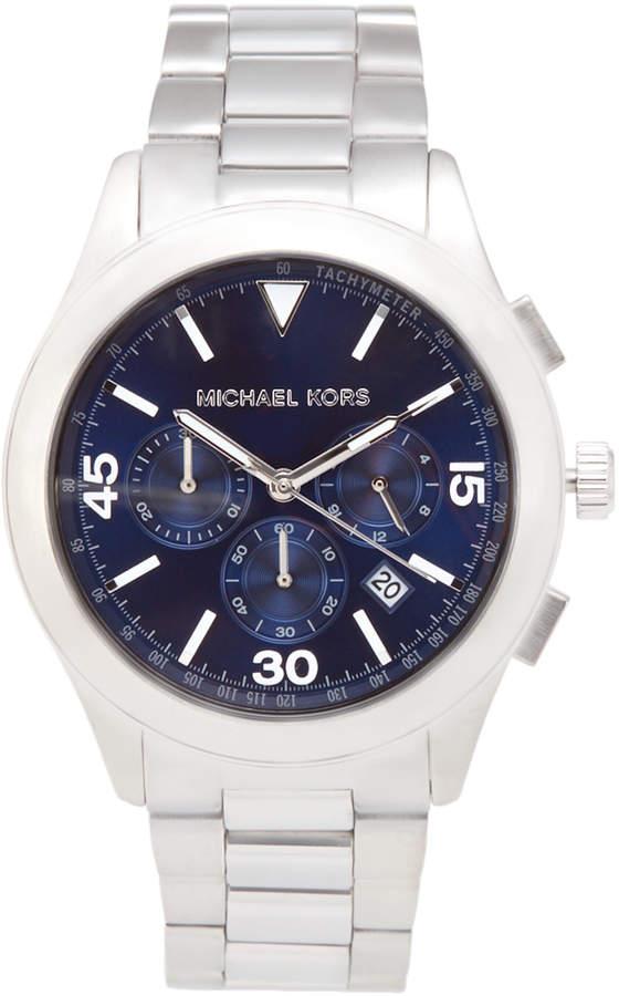 Michael Kors MK8451 Silver-Tone Gareth Watch