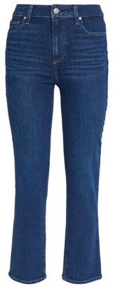 Paige Hoxton Ankle Straight Jeans