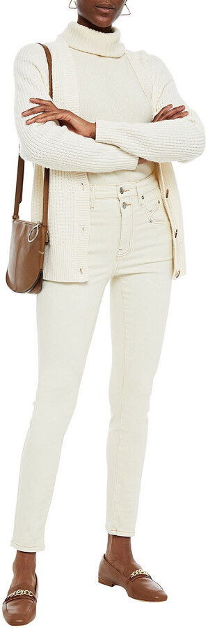 Thumbnail for your product : Current/Elliott The Whitby High-rise Skinny Jeans