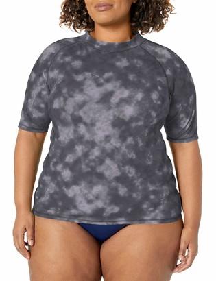 Kanu Surf Women's Plus-Size Sydney Plus Size UPF 50+ Sun Protective Rashguards