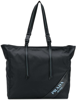 Prada Large Top Handle Tote